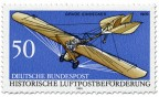 Briefmarke: Grade Eindecker 1909