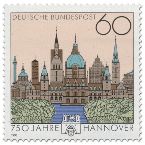 Briefmarke: Hannover 750