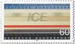 Briefmarke: Ice Start Schnellzug