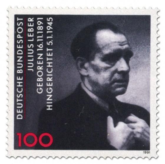 Briefmarke: Julius Leber 100. Geburtstag