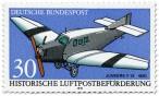 Briefmarke: Junkers F13 1930
