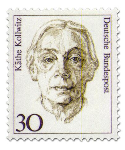 Briefmarke: Käthe Kollwitz Briefmarke