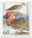 Briefmarke: Kampfläufer (Seevogel)
