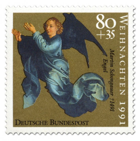 Briefmarke: Martin Schongaür Engel