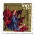 Briefmarke: Martin Schongaür Geburt Christi
