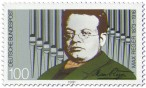 Briefmarke: Max Reger (Komponist)