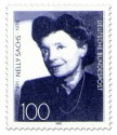 Briefmarke: Nelly Sachs 100