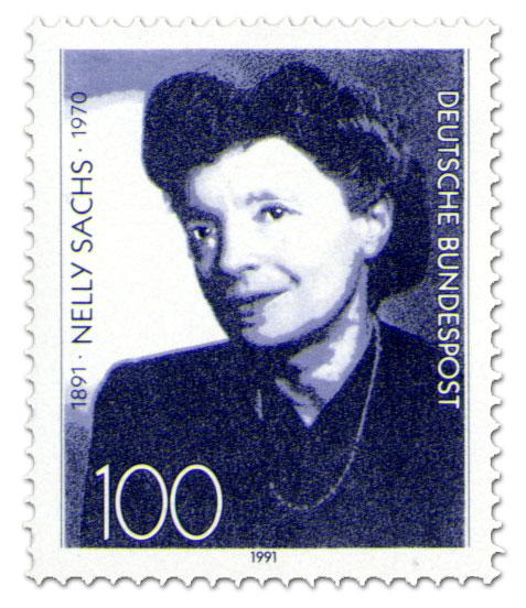 Briefmarke: Nelly Sachs 100