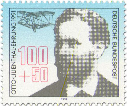 Briefmarke: Otto Lilienthal