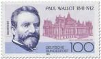Briefmarke: Paul Wallot (Baumeister)