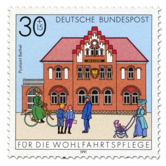 Briefmarke: Postamt Bethel