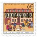 Briefmarke: Postamt Büdingen