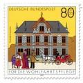 Briefmarke: Postamt Lauscha
