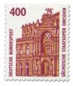 Briefmarke: Sächsische Staatsoper Dresden (Semperoper)