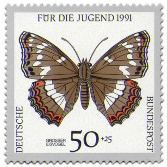 Briefmarke: Schmetterling Großer Eisvogel