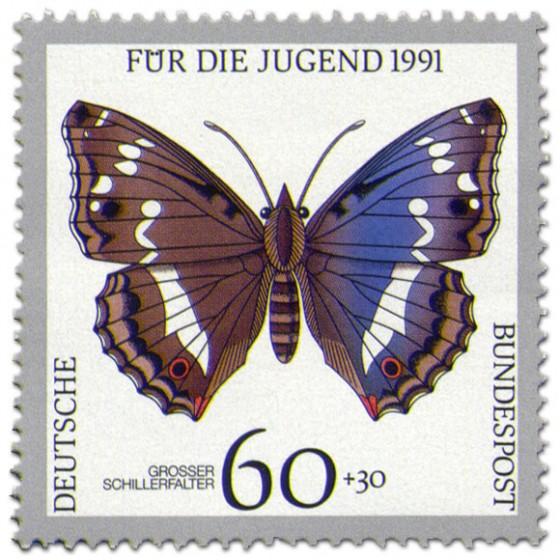 Briefmarke: Schmetterling Grosser Schillerfalter