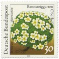 Briefmarke: Schweizer Mannsschild (Blume)