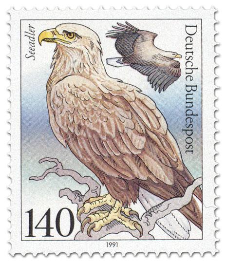 Briefmarke: Seeadler