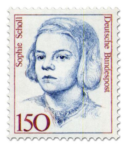 Briefmarke: Sophie Scholl (Briefmarke)