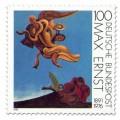Stamp: Gemälde Vogeldenkmal Max Ernst