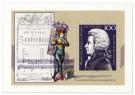 Wolfgang Amadeus Mozart Briefmarke 200