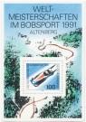 Briefmarke: Zweierbob im Bobsport (Weltmeisterschaft)