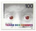 Briefmarke: 25 Jahre Terre des Hommes