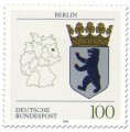 Briefmarke: Wappen Berlin