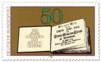 Briefmarke: Losungsbuch der Herrnhuter Brüdergemeine