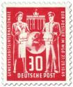 Postler, Gewerkschaft-Gründungskonferenz (30, Rot)