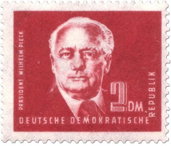 Briefmarke: Wilhelm Pieck 2 DM