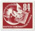 Briefmarke Taube Sachsen Dreier Debria