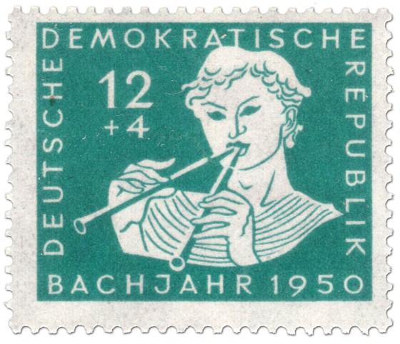 Briefmarke: Griechischer Hirte mit Doppelflöte