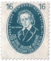 Briefmarke: Jacob Grimm (Philologe)
