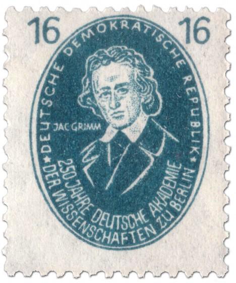 Briefmarke: Jacob Grimm (Philologe)