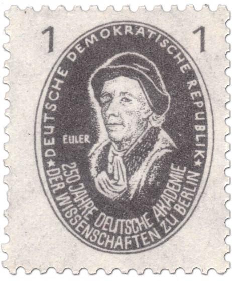 Briefmarke: Leonhard Euler (Mathematiker)