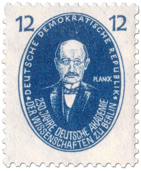 Briefmarke: Max Planck (Physiker)
