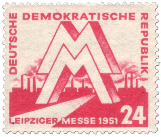 Briefmarke: Briefmarke DDR: Leipziger Messe 1951