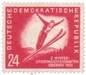 Briefmarke: Skispringen Meisterschaft Oberhof 1951