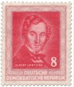 Briefmarke: Albert Lorzing (Komponist)