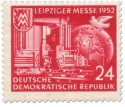 Leiziger Herbstmesse 1952 (rot)