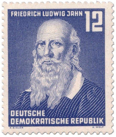 Briefmarke: Friedrich Ludwig Jahn (Turnvater)