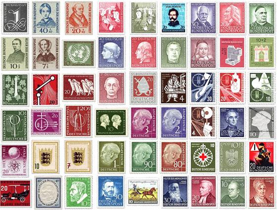 Briefmarken Bilder Deutschland Suchen Sammeln Und Sortieren